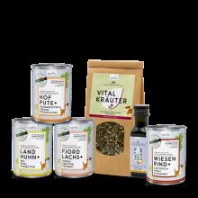 naftie Bio Schnupperbox Weniger Fleisch, Hundefutter Test-Paket