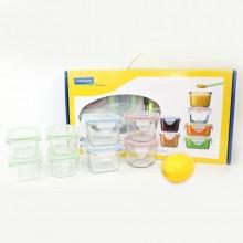 Glasslock Baby Frischhaltedosen & Mini Vorratsdosen, 9teilig, mikrowellengeeignet