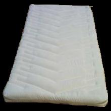 8 cm Füllkammer-Matratzen mit Getreideschalen-Füllung, 90cm oder 100cm Breite, verschiedene Längen
