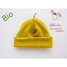 Bio Baby Mütze Gelb