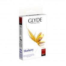 Glyde Blueberry Premium Vegane Kondome