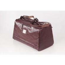 Große Reisetasche Sporttasche Ledertasche Bordeaux
