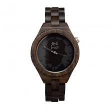 Monoclemanwatch Damen Armbanduhr aus Sandelholz