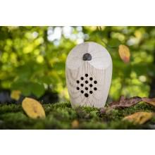 HUURI Eule – Klangbox aus Eichenholz – Waldklang