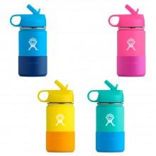 Hydro Flask Kids Flask Wide Mouth 354ml – Edelstahl-Trinkflasche mit weiter Öffnung für Kinder