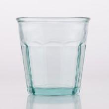 6 kleine Retro-Gläser aus 100% recyceltem Glas