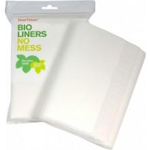 Bio Windelvlies-Einlagen aus Papier für Babys, 200 Stück
