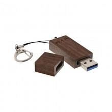 USB 3.0 Speicherstick im Walnuss-Holz-Gehäuse – InLine® woodstick