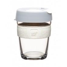 KeepCup Brew Cino – Glas Mehrwegbecher für Kaffee & Espresso