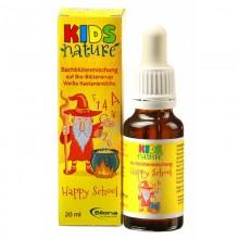KIDS Nature Happy School – Bio Bachblüten Komplexmittel, Bilona