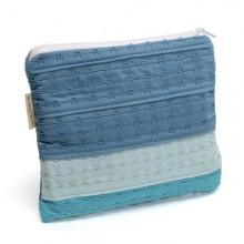 Etui, Kosmetiktasche, Stiftemappe & Aufbewahrungstasche »Kim« aus recyceltem BH-Hakenband