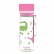 Trinkflasche AVEO 0,35 L rosa Dinos von aladdin
