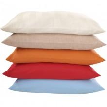 Kissenbezug aus Bio-Baumwolle in verschiedenen Farben und Größen