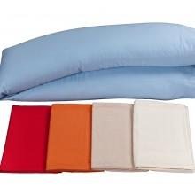 Kissenbezug für Seitenschläferkissen in verschiedenen Farben