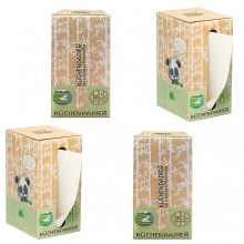 Smooth Panda Küchenpapier in Spender Box