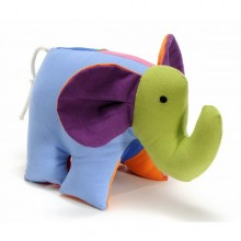 Kuscheltier Elefant Kleiner Salomon aus Baumwolle
