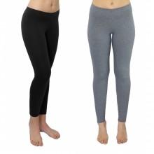 Leggings für Sport, Yoga & Lagenlook aus Bio-Baumwolle