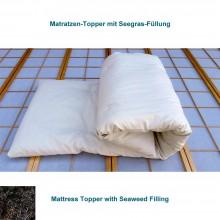 Matratzenauflagen mit Seegras-Kautschuk-Füllung