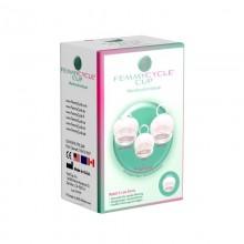 FemmyCycle Low Cervix Menstruationstasse mit Auslaufschutz
