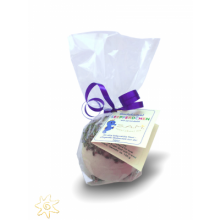S.A.M. natürliche Baby & Kinder Badekugel Seepferdchen Lavendel, 120g