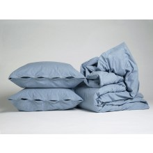 Bettwäscheset Velvet Flanell Light Blue