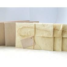 Geschenkkarten 3er-Set mit Umschlägen – Natur