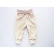 Baby Mitwachshose | Baby Pumphose | Nabelbundhose Naturweiss