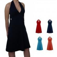 Neckholder Kleid im Marilyn Monroe Stil – Bio-Jerseykleid