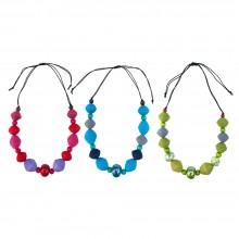 Halskette ELEMENTS mit verschiedenen Perlen