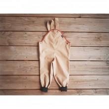 Outdoor-Hose mit Wollbündchen aus Eta-Proof Bio-Baumwolle, karamel