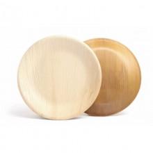 Palmblatt-Teller rund 23 cm