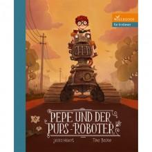 Pepe und der Pups-Roboter – Kinderbuch über Nachhaltige Mobilität