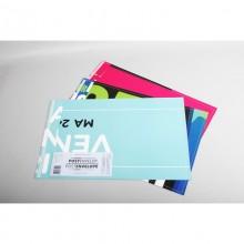 Briefumschlag – Post Umschlag aus Recycling Plakaten für A4