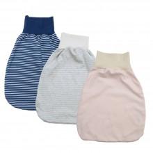 Sommer Strampelsack – Pucksack aus Bio-Baumwolle