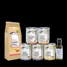 naftie Premium & Bio Hundefutter zum Mischen Schnupperbox