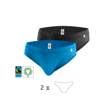 QuickSlip 2er Pack Herrenslip aus Bio-Baumwolle, kleiderhelden