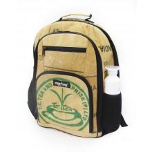 Ragbag Laptop Rucksack aus recycelten Teesäcken