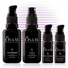 8SAM Travel-Kit Mild Anti-Aging - Pflegeset No8 für Gesicht & Haut