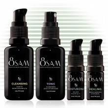 8SAM Travel-Kit Mild Healing - Pflegeset No5 für Gesicht & Haut