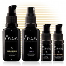 8SAM Travel-Kit Mild Hydrating - Pflegeset No7 für Gesicht & Haut