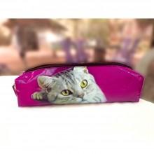 Federmäppchen - Stifteetui - Kosmetiktäschchen - Katzenfuttertasche