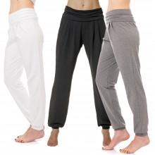 Yoga Hose im Sarouel Stil, Bio-Baumwolle