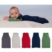 Baby Bio-Frottee Schlafsack ohne Arm in verschiedenen Farben und Größen