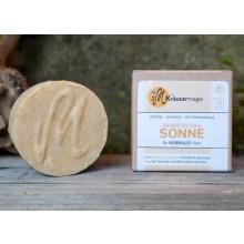 Shampoo-Taler Sonne – Festes Shampoo für jeden Haartyp – Vegane Haarseife