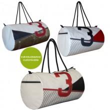 Individualisierbare XL Sporttasche und Reisetasche XL »Sail Boat 3«  – verschiedene Designs