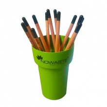 Stiftebecher mit Sprout Buntstiften zum Einpflanzen