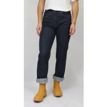bloomers Straight-fit Bio Jeans Öko-faire Jeans, Dunkelblau
