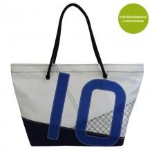 Strandtasche »Sail Boat 10«  aus recycelten Segeln oder neuem Segeltuch – individualisierbar