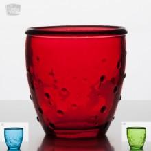 Teelichtglas 'Feeling' aus Recyclingglas