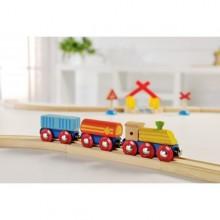Transport Eisenbahn aus FSC Holz